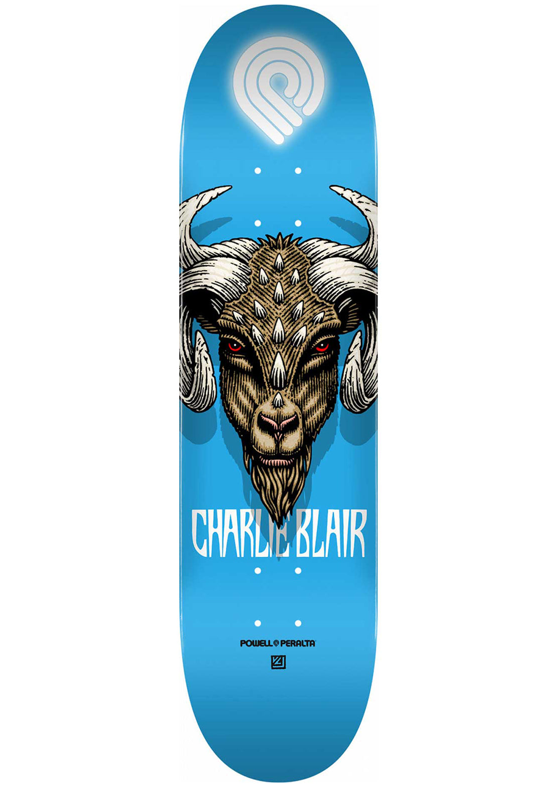 Powell Peralta Blair Goat 2 Skateboard Deck - 8.5""