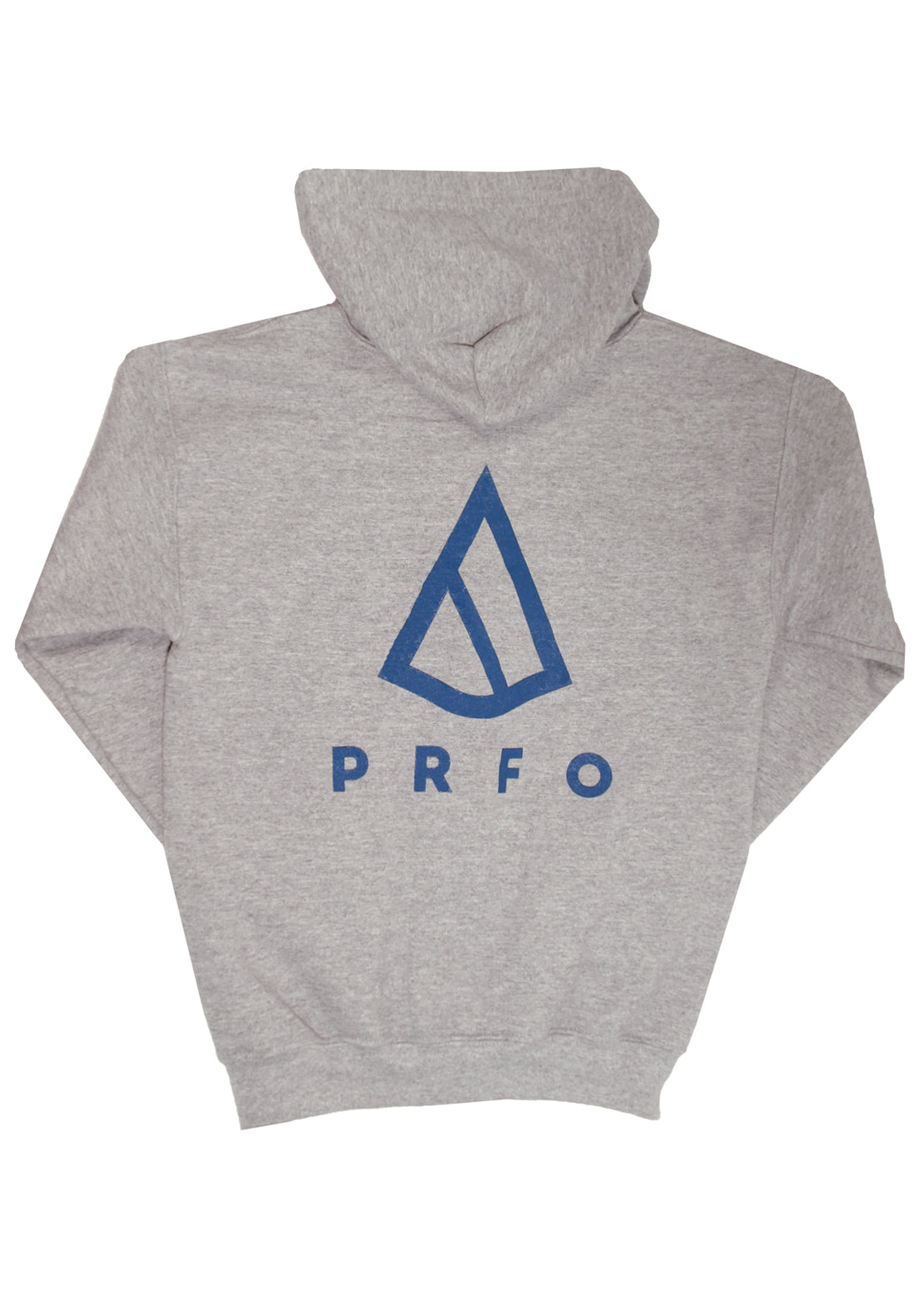 PRFO Junior Icon Front & Back Zip Hoodie Blue