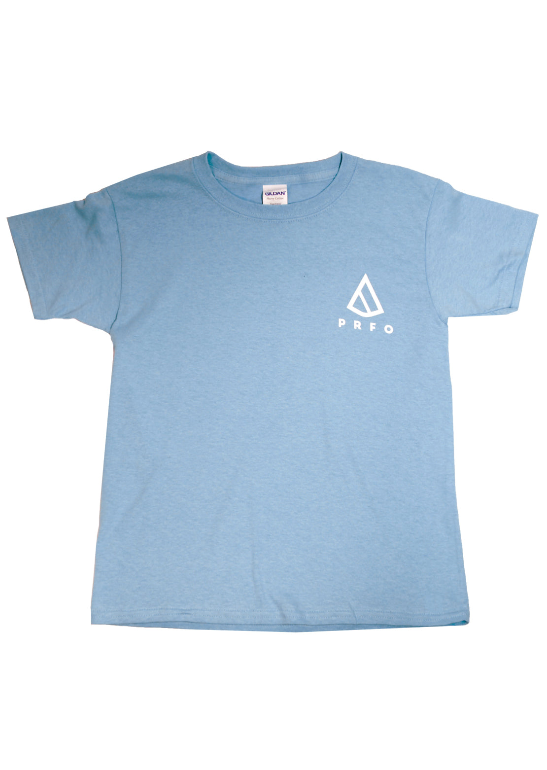 PRFO Junior Icon Superior T-Shirt Sky/White
