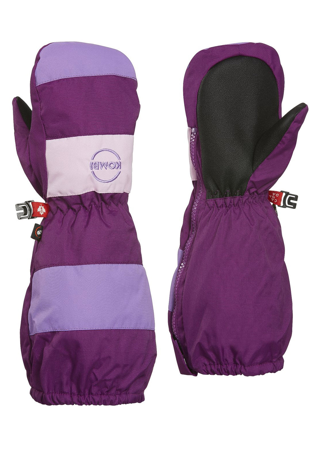 Kombi Junior Toddler Candy Man Children Mitt Purple Fiction