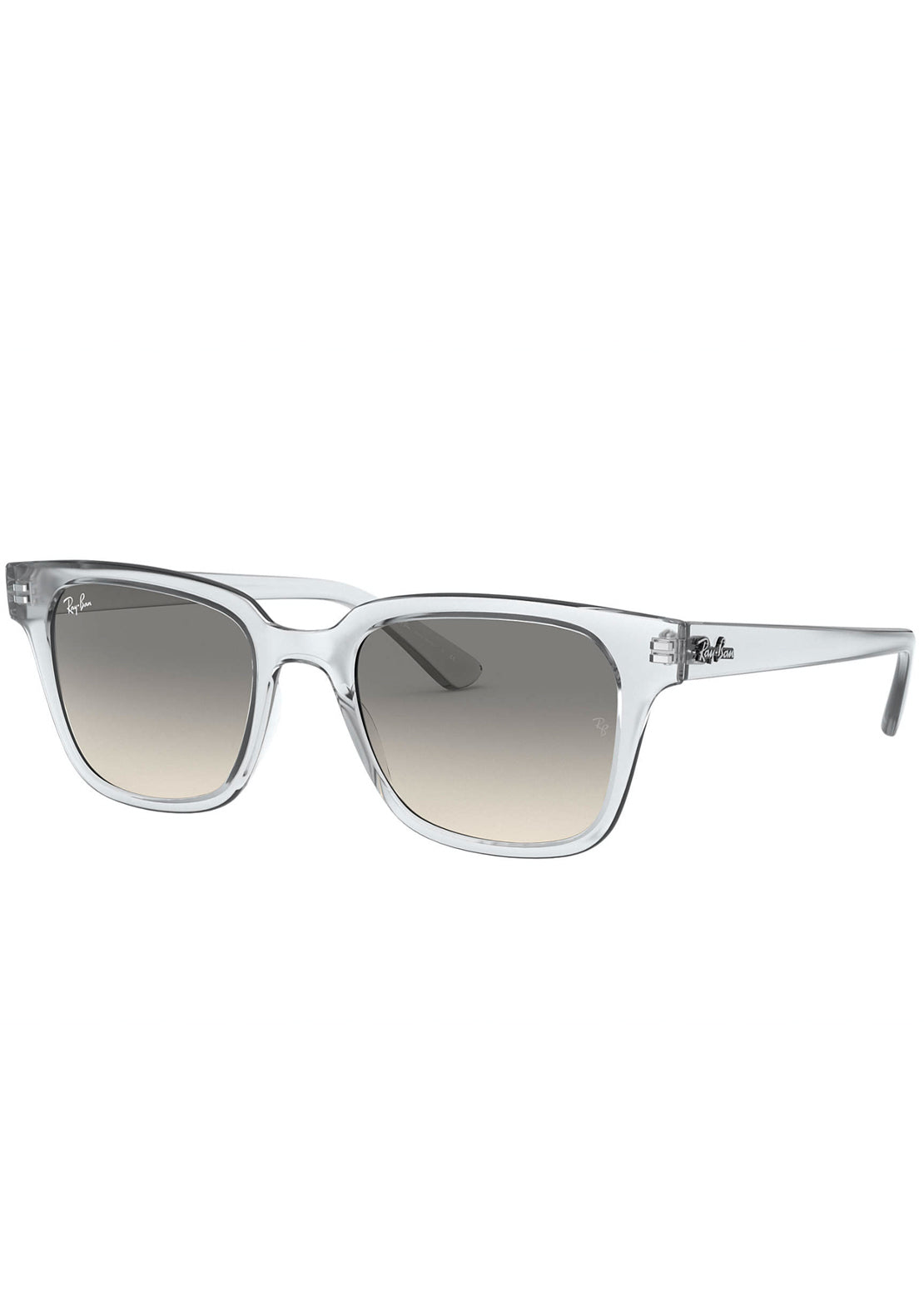 Ray-Ban RB4323 Sunglasses Nylon Transparent/Light Grey Gradient