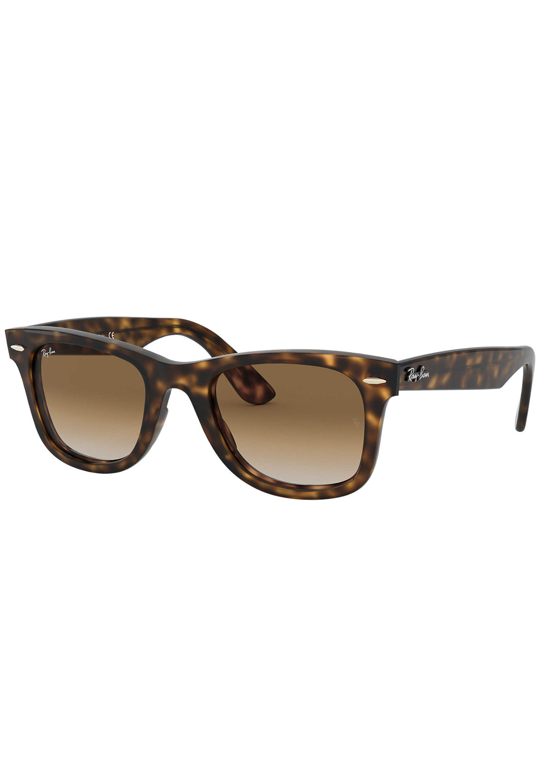 Ray-Ban Wayfarer Ease RB4340 Sunglasses Injected Tortoise/Light Brown Gradient