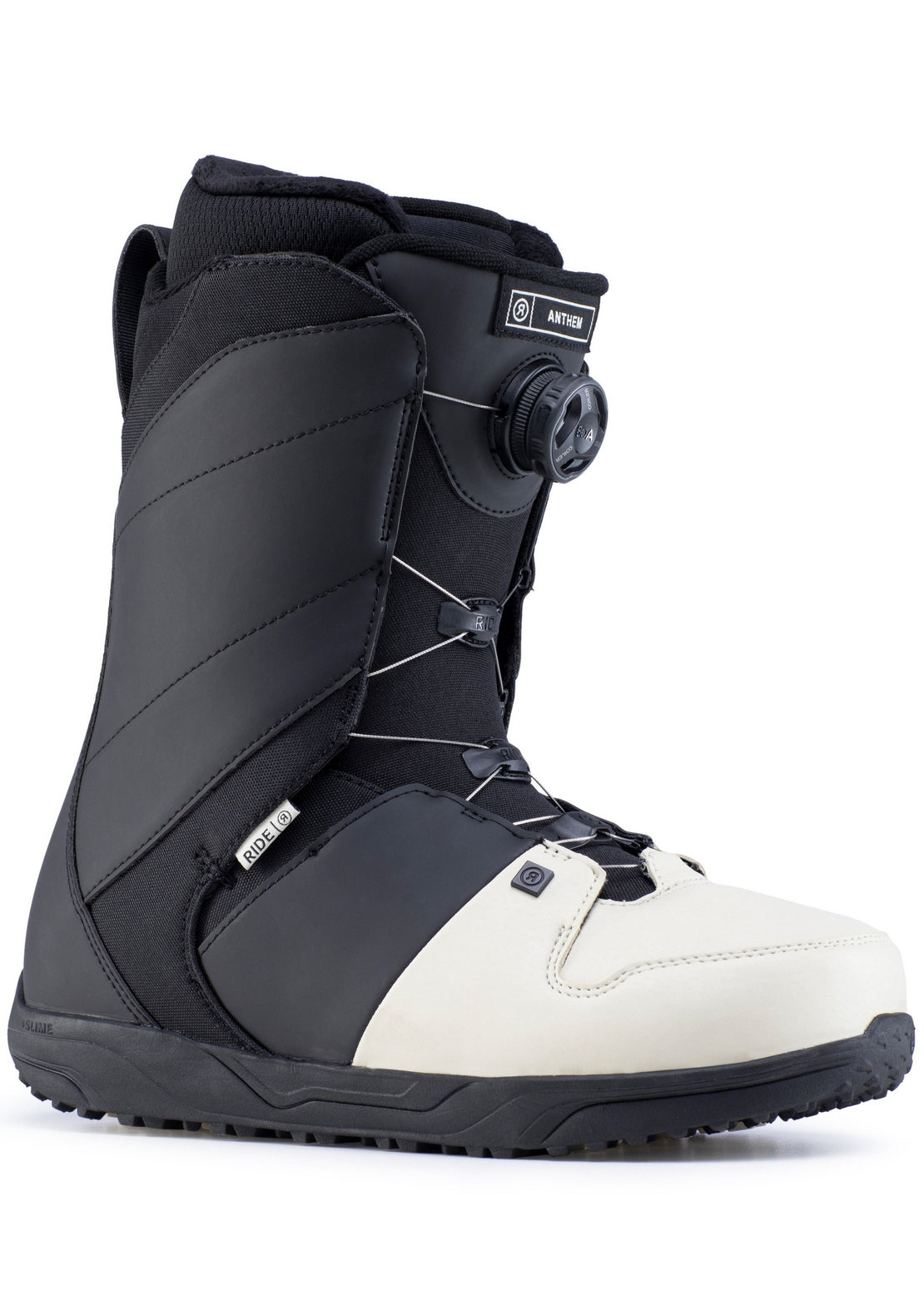 Ride Men's Anthem Boa Snowboard Boots Off White