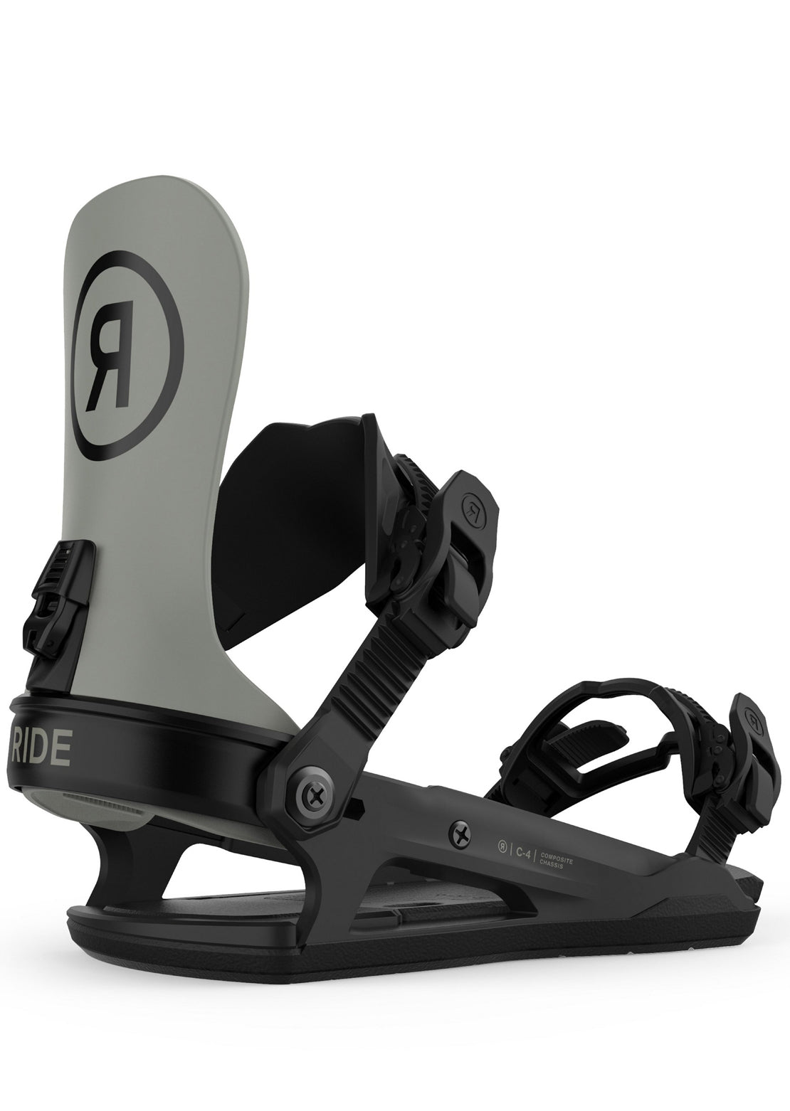 Ride Men's C-4 Snowboard Bindings Moss