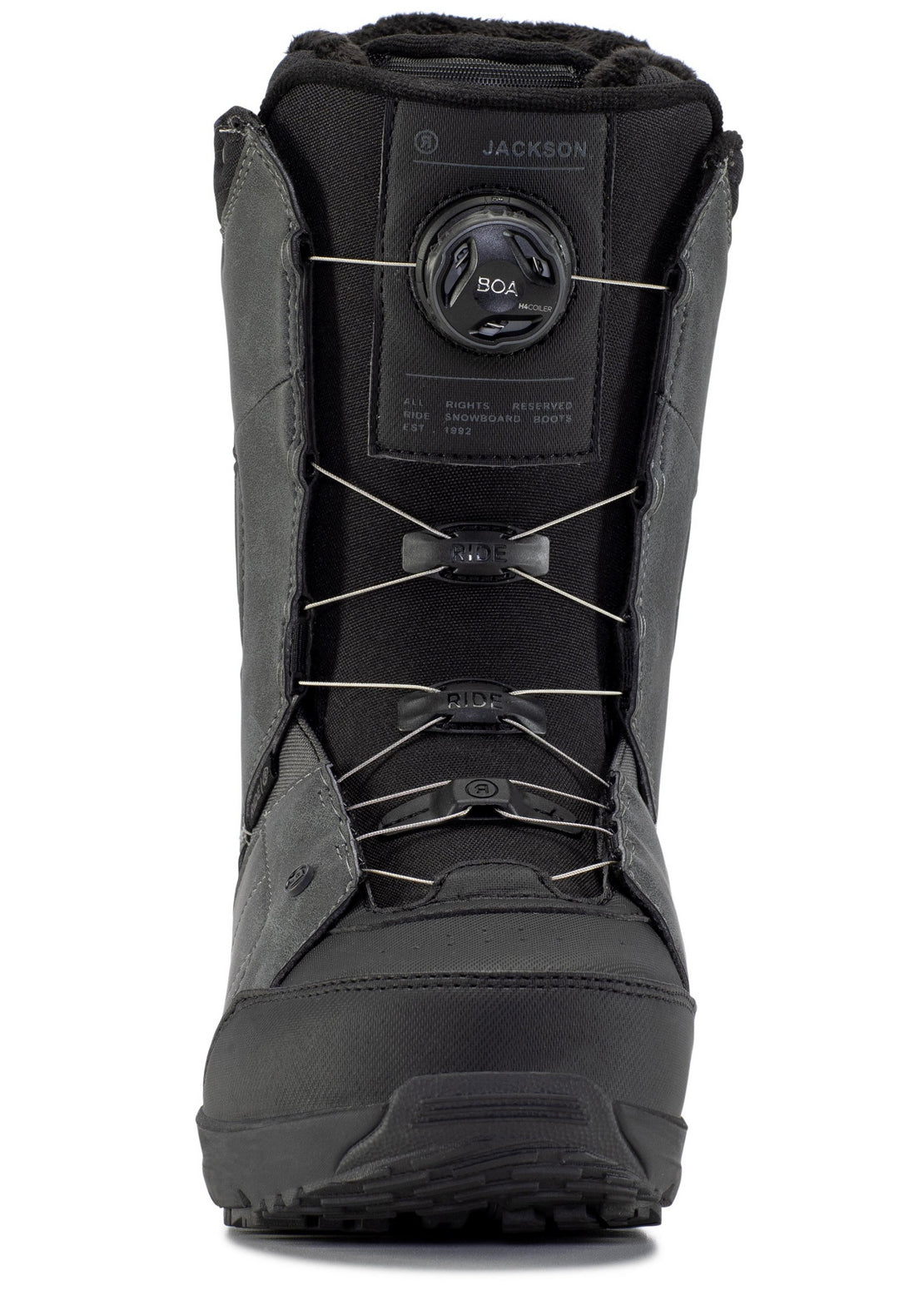 Ride Men's Jackson Snowboard Boots Grey