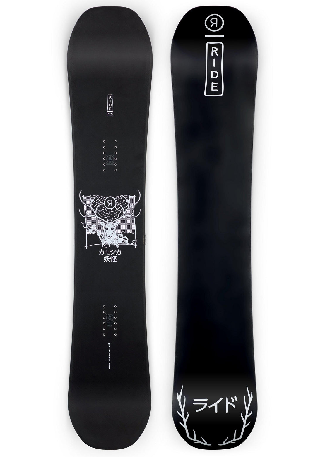 Ride Men's Wild Life Snowboard - 157 cm Black