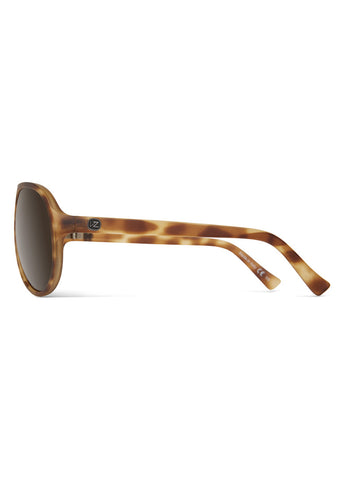 Von Zipper Rockford III Sunglasses Tortoise Satin/Bronze
