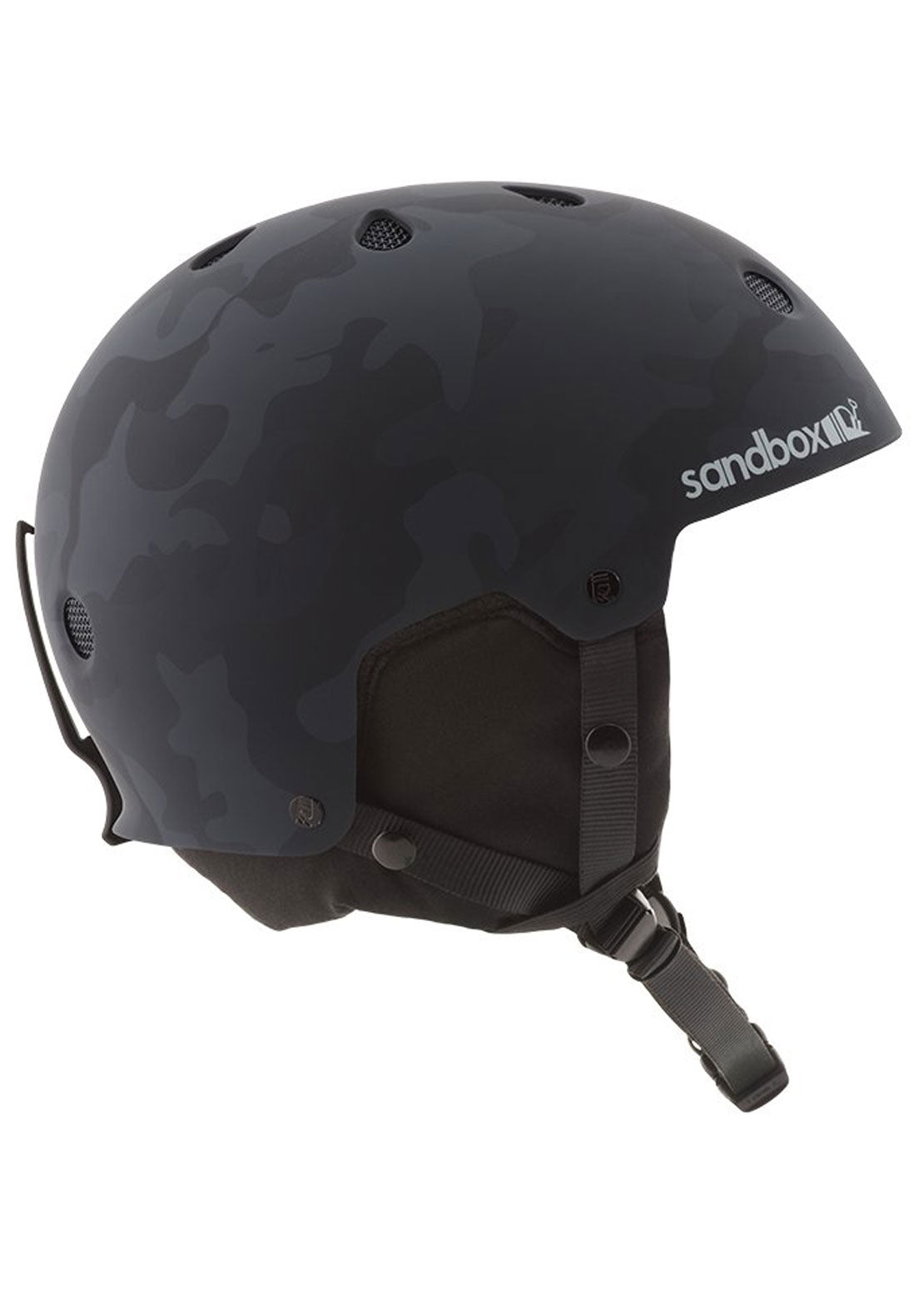 Sandbox Legend Winter Helmet Black Camo Matte