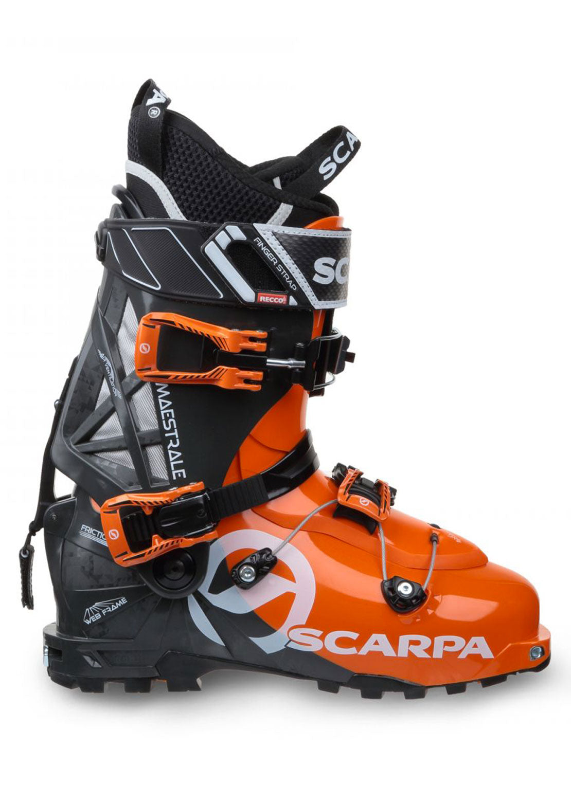 Scarpa Men's Maestrale Ski Touring Boot Orange/Anthracite