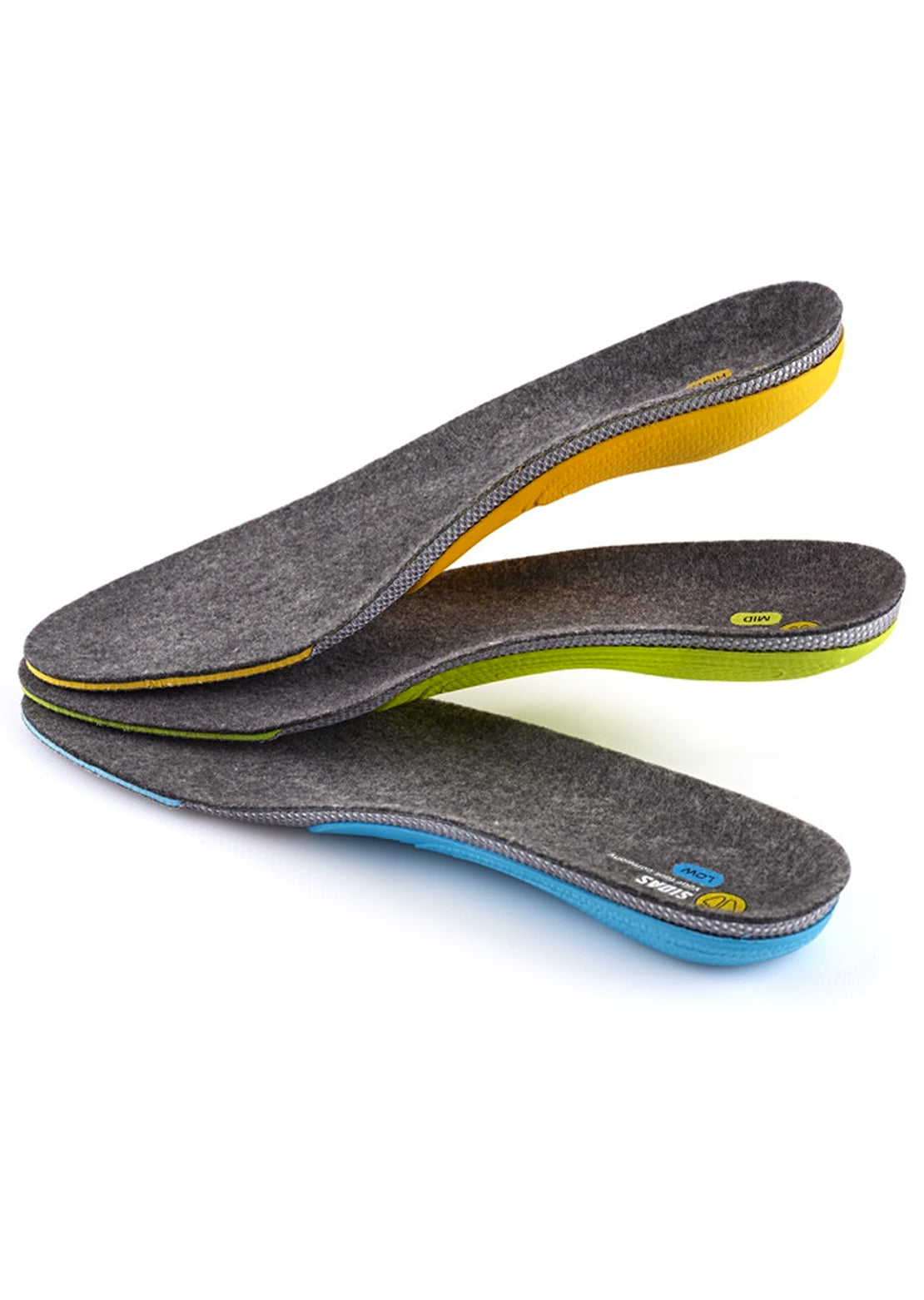 Sidas 3Feet Merino High Insoles No Color
