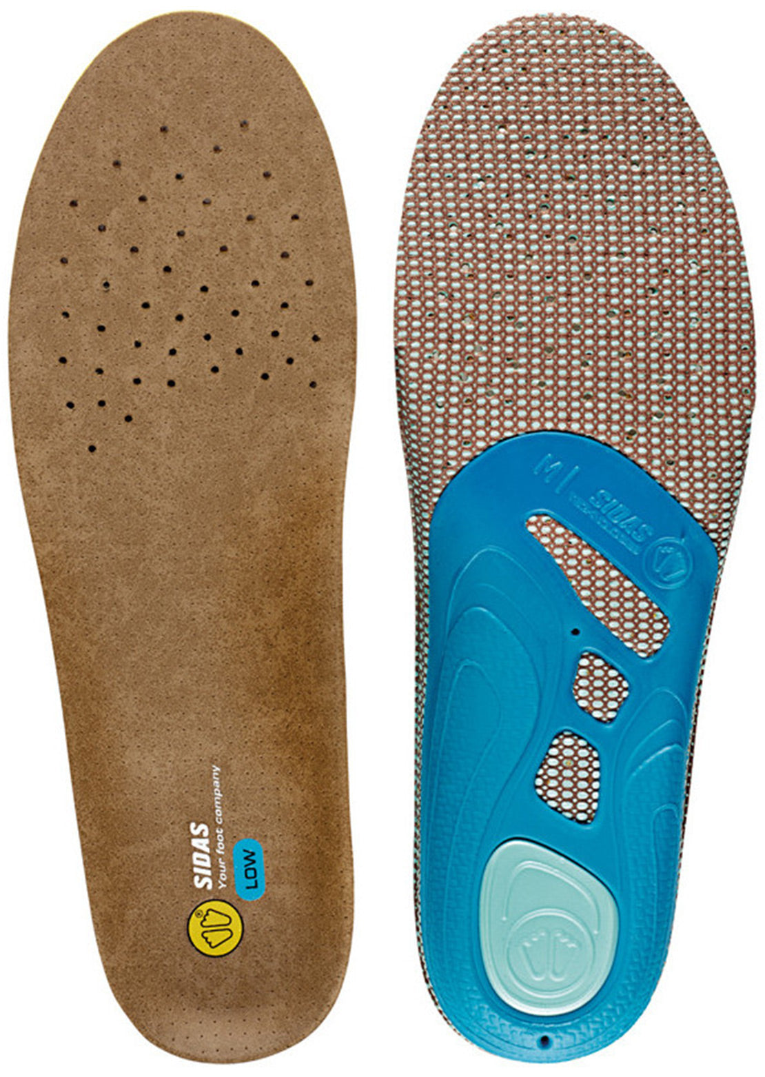 Sidas 3Feet Outdoor Low Insoles Blue