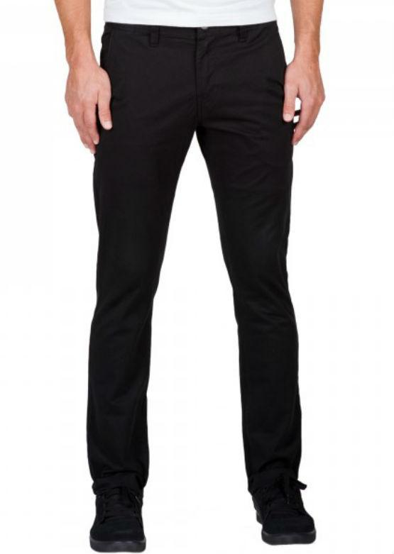 Volcom Men's Frickin Slim Chino - Black