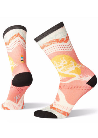Smartwool Women's Curated Bonsai Graphic Crew Socks Multi Color