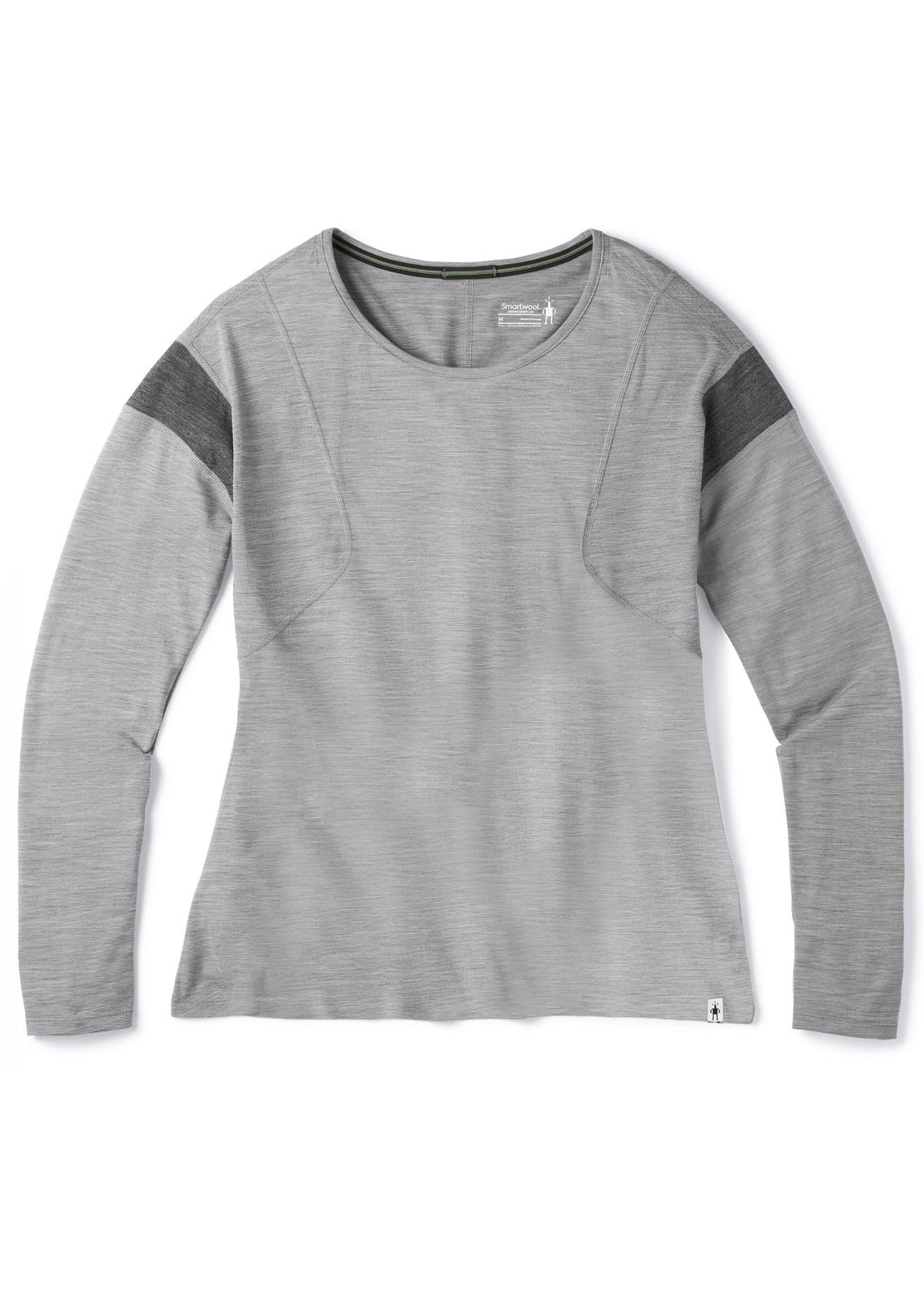 Smartwool Women's Merino 150 Longsleeve Shirt Light Gray Heather
