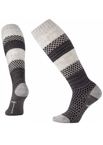 Smartwool Women's Popcorn Cable Knee High Socks Winter White