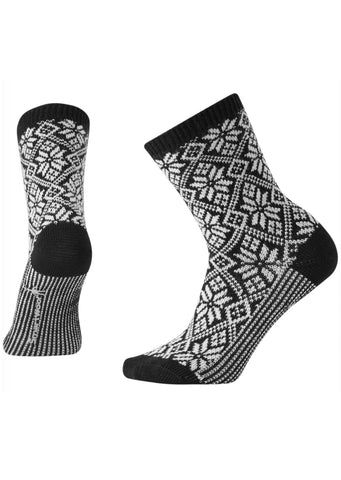 Smartwool Women's Traditional Snowflake Socks Black