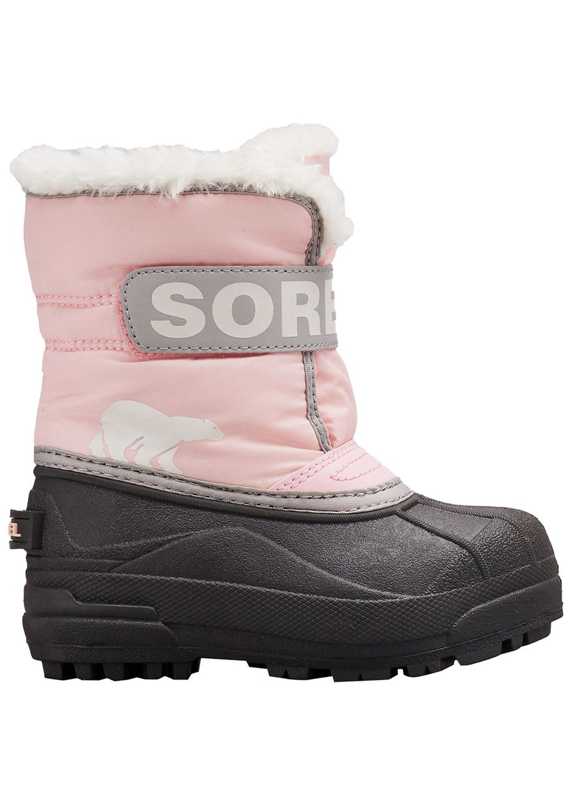 Sorel Junior Toddler Snow Commander Winter Boots Cupid