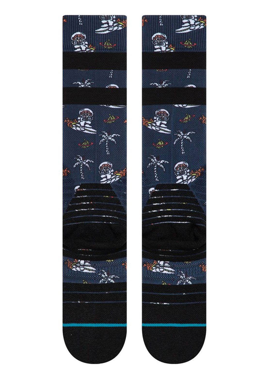 Stance Junior Space Monkey Winter Socks Navy