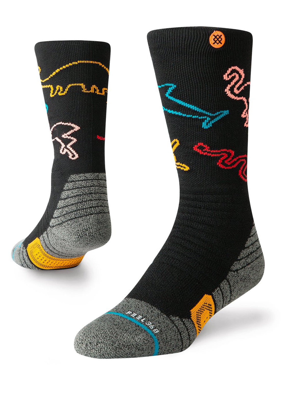 Stance Junior You Are Silly Winter Socks Black