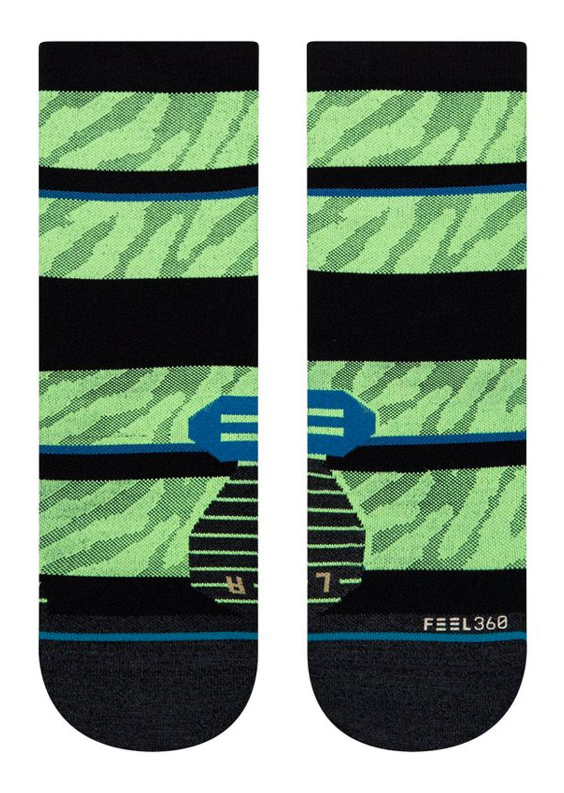 Stance Bike Unisex Embrun Socks Neongreen