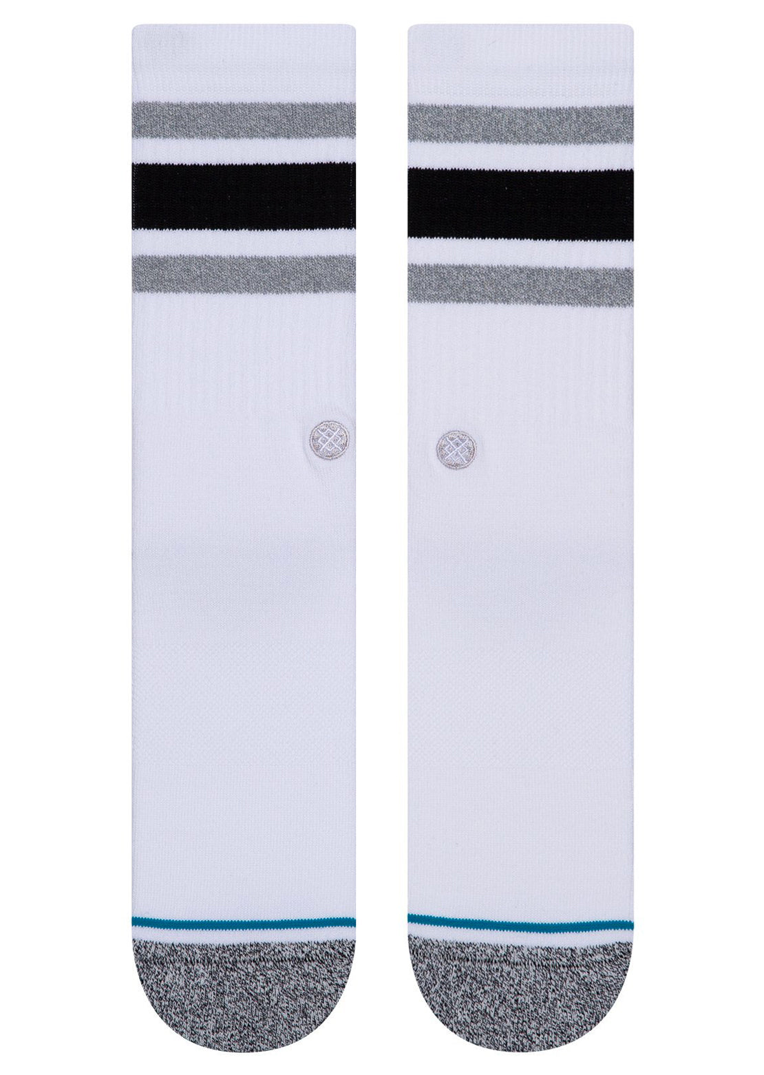Stance Boyd Unisex Casual Crew Socks White