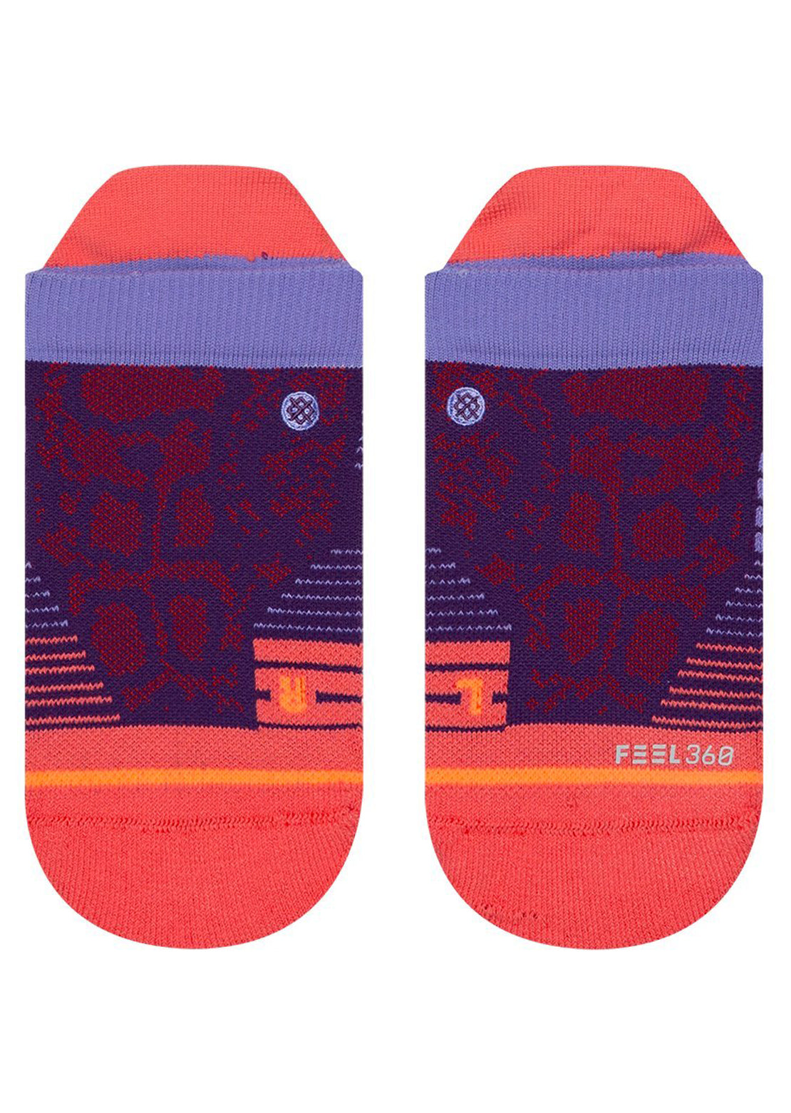Stance Women's Needles Tab Socks Purple