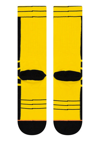 Stance Women's Quentin Tarantino KB Bride Jacket Socks Yellow