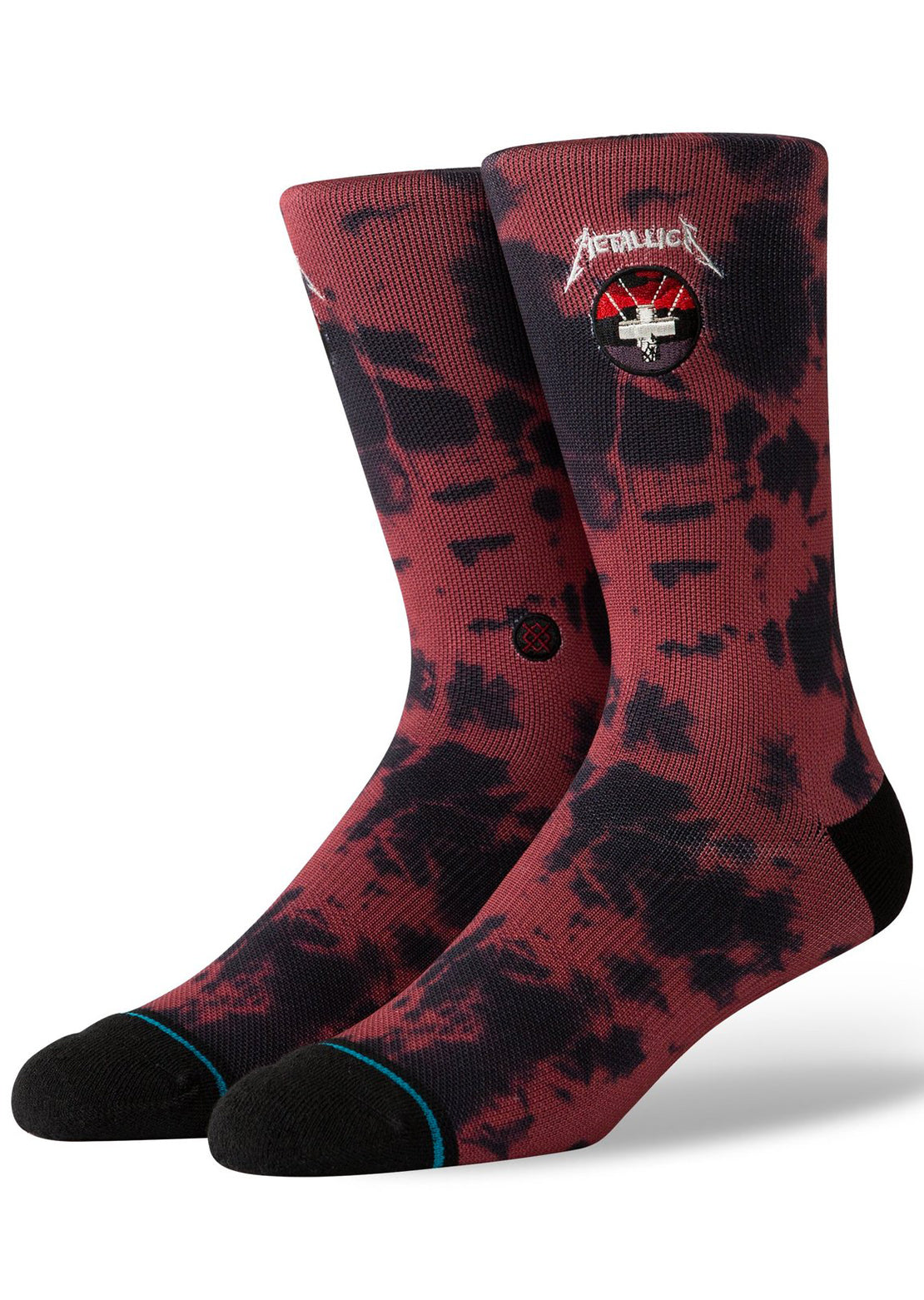 Stance X Metallica Men's Master of Puppets Crew Socks Red