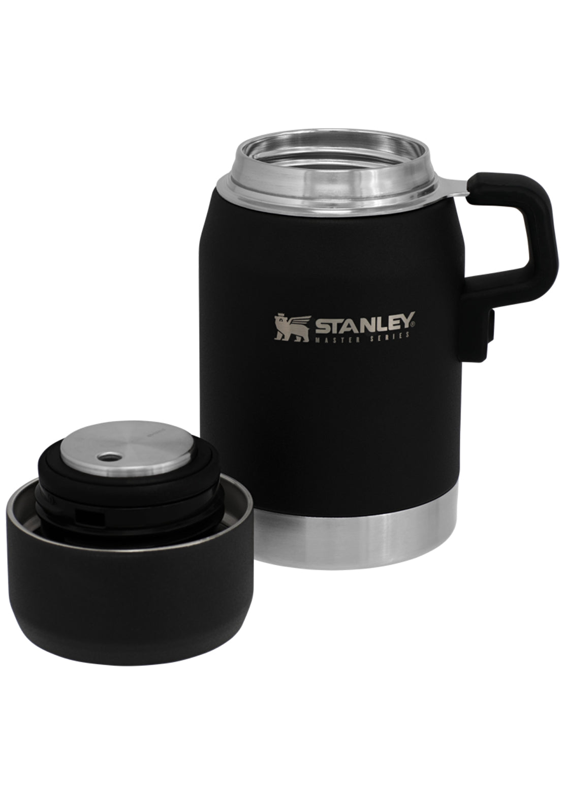 Stanley Master Unbreakable Food Jar 24 Oz Foundry Black