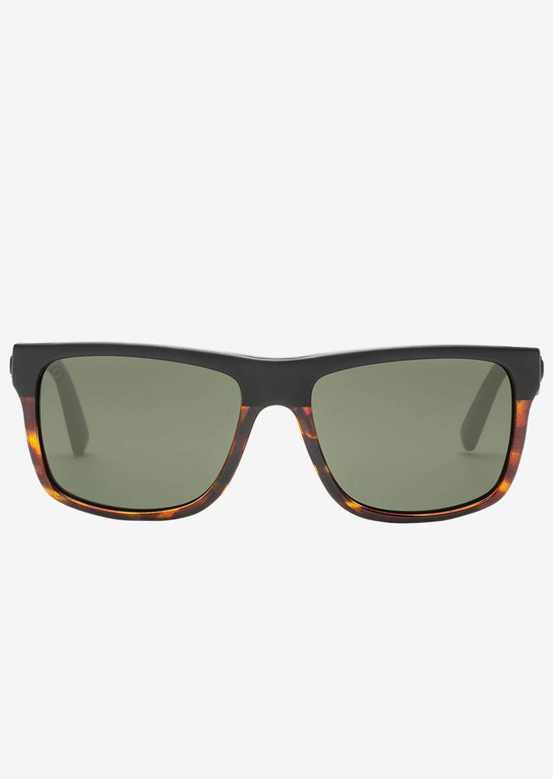 Electric Men's Swingarm Polarized Sunglasses Tortoise Burst/Grey