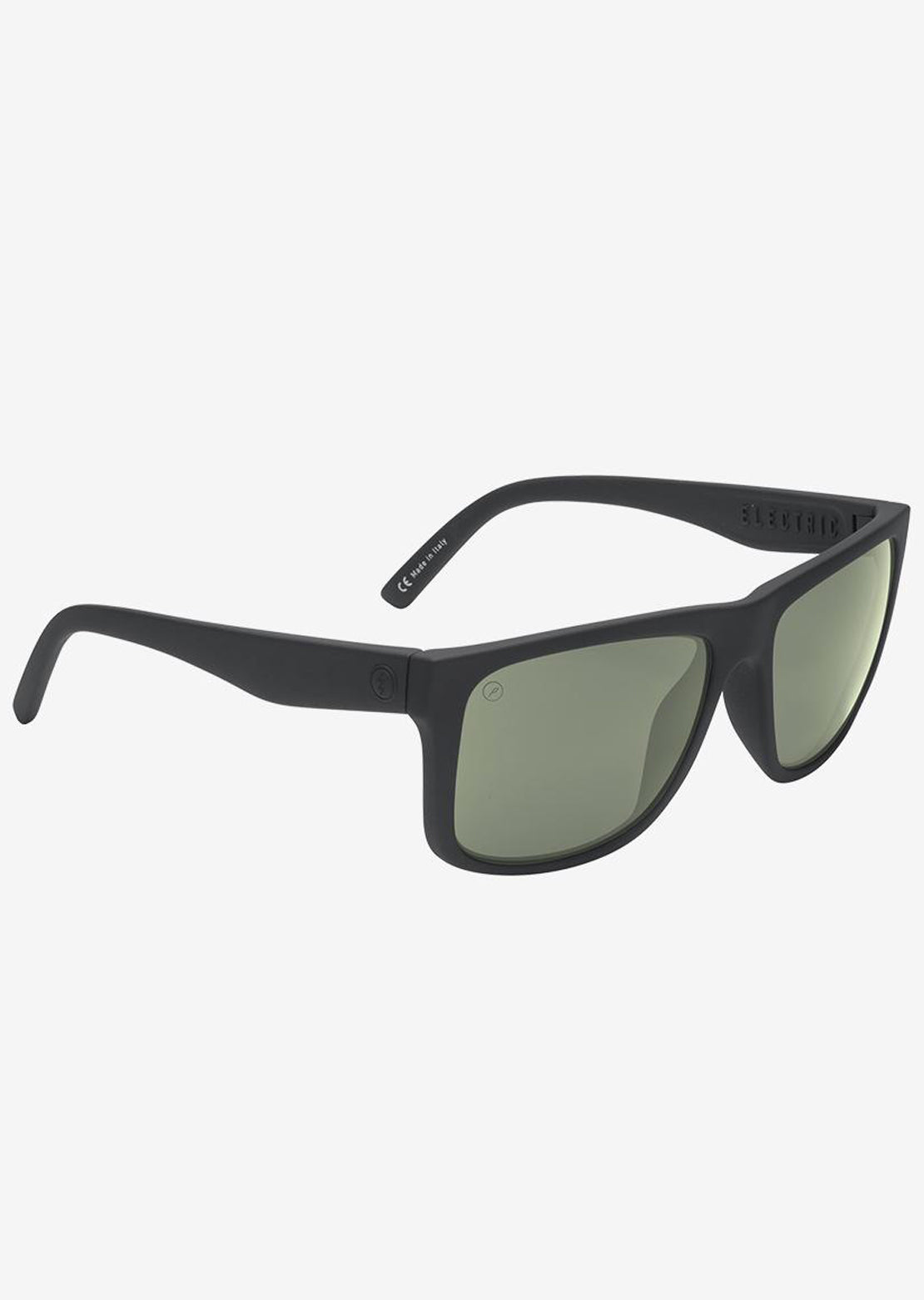 Electric Men's Swingarm XL Polarized Sunglasses Matte Black/Polarized Grey