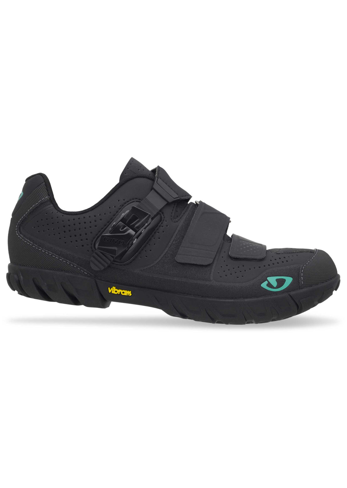 Giro Women's Terradura Clipless Bike Shoes Black/Dynasty Green