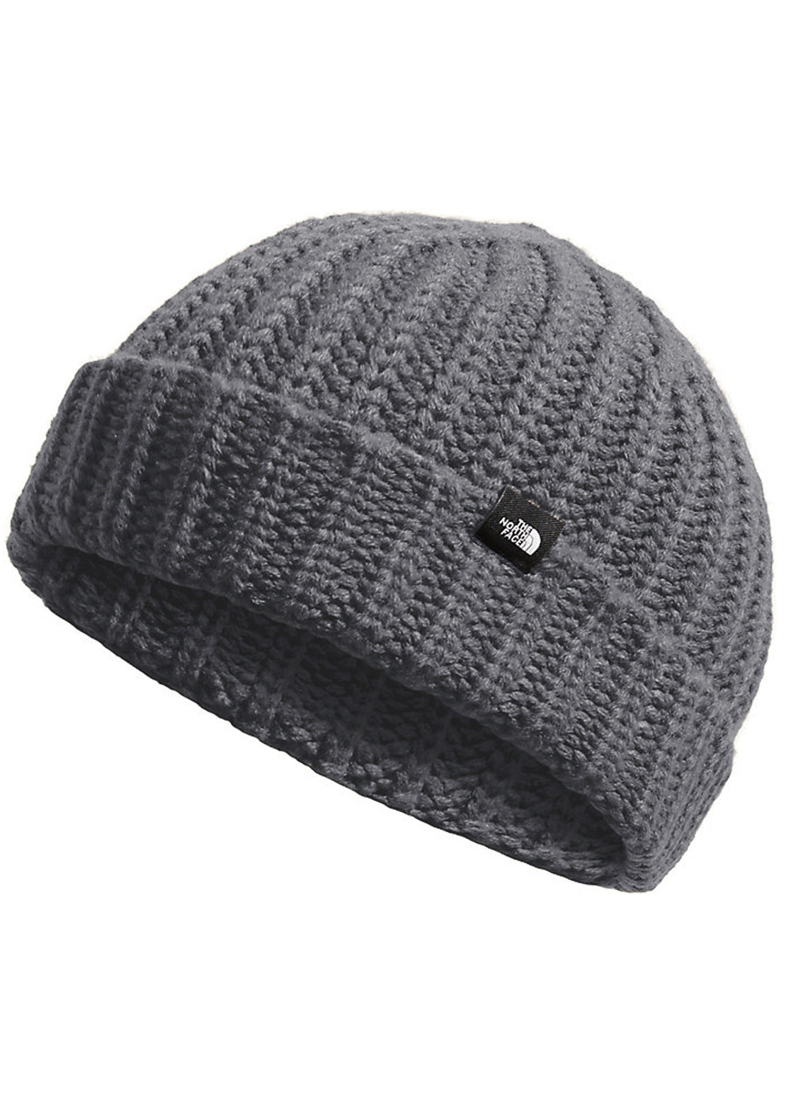 The North Face Chunky-Knit Watchman Beanie TNF Medium Grey Heather