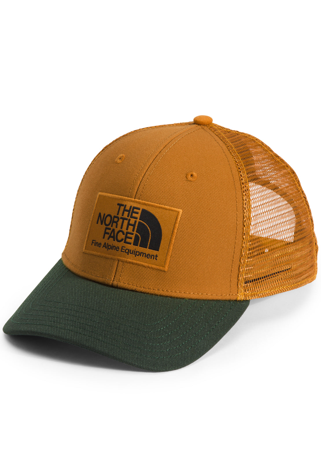 The North Face Deep Fit Mudder Trucker Cap Timber Tan/Canvas Green