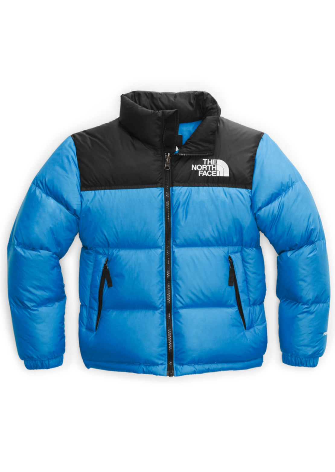 The North Face Junior 1996 Retro Nuptse Jacket Clear Blue Lake
