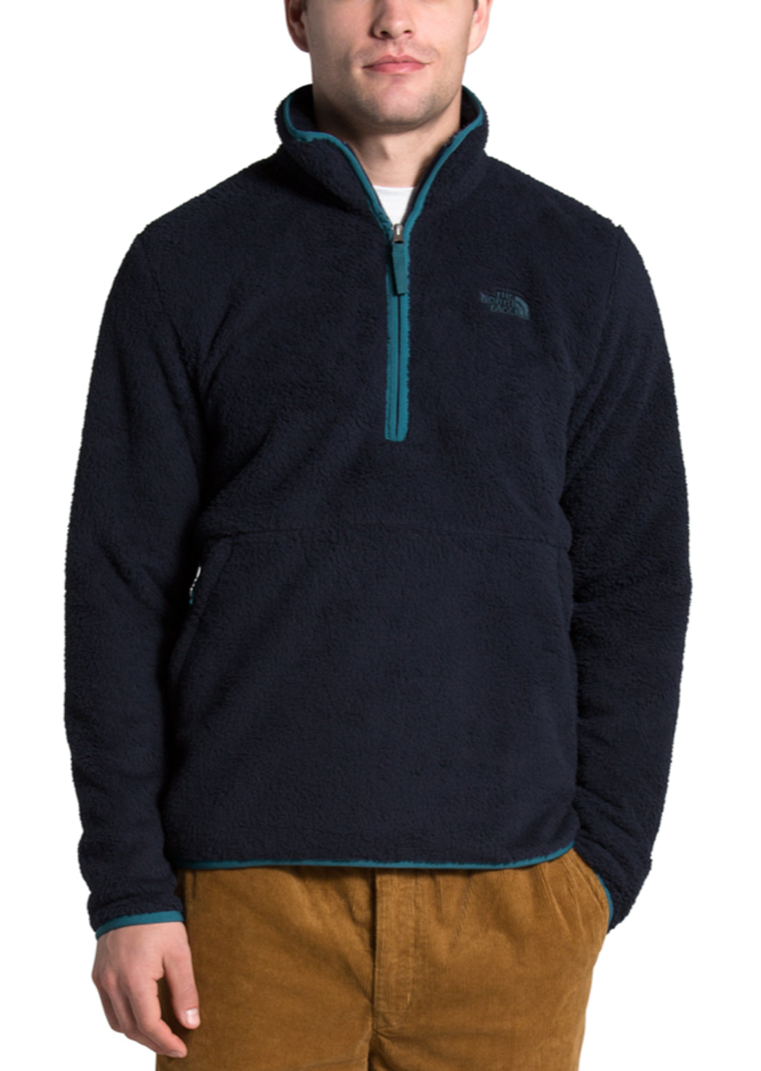 The North Face Men's Dunraven Sherpa 1/4 Zip Fleece Aviator Navy