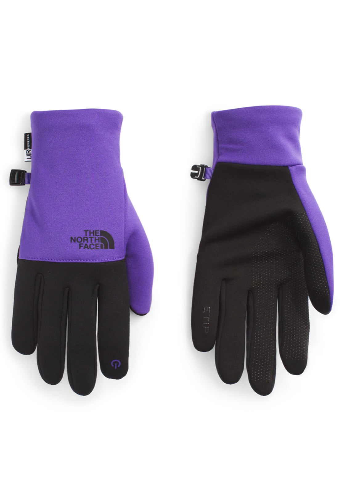 The North Face Men's Etip Recycled Gloves Peak Purple/TNF Black