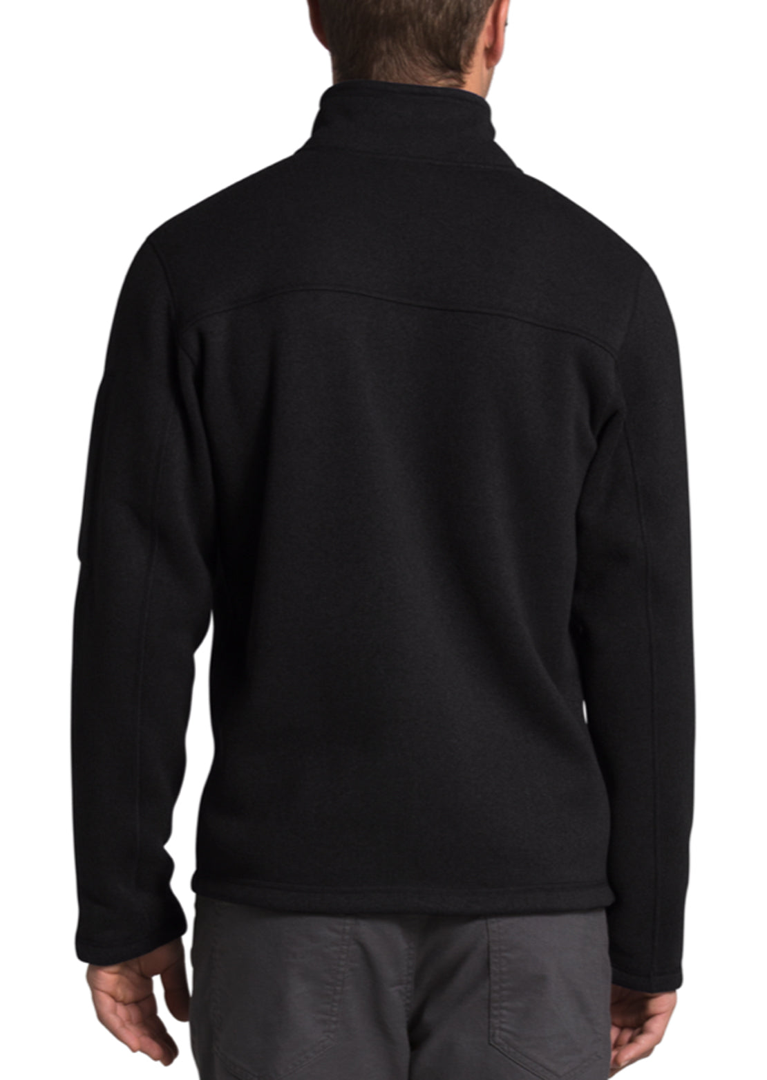 The North Face Men's Gordon Lyons 1/4 Zip Pullover TNF Black Heather