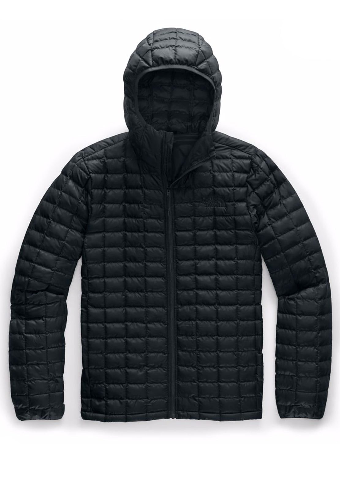 The North Face Men's ThermoBall Eco Hoodie Jacket TNF Black Matte