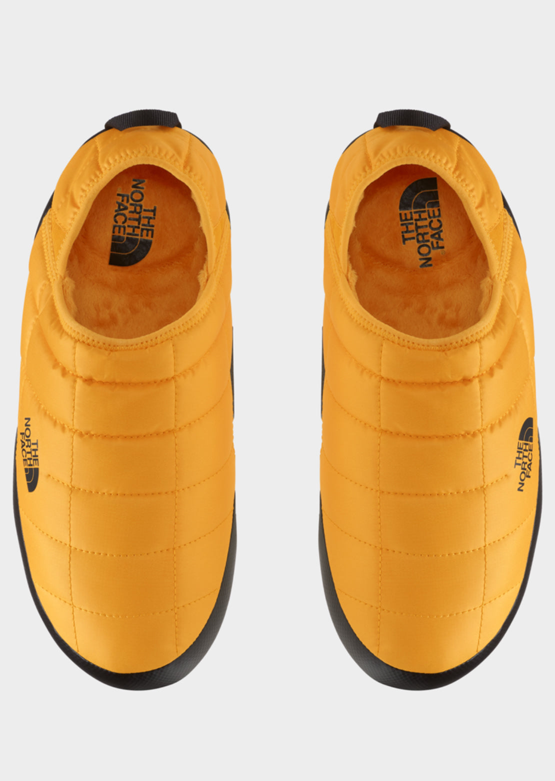 The North Face Men's ThermoBall Traction Mule V Slippers Summit Gold/TNF Black