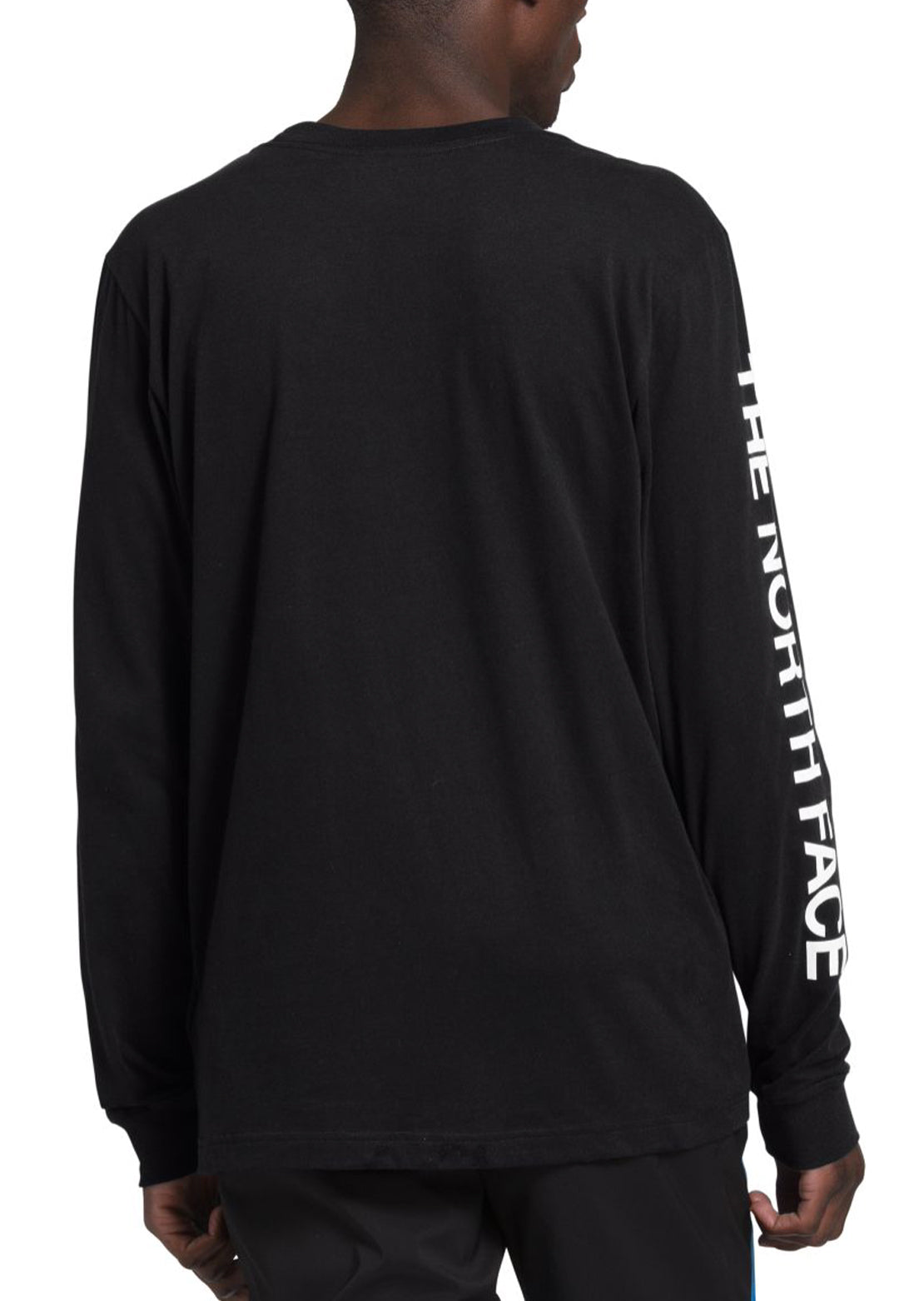 The North Face Men's TNF Sleeve Hit Longsleeve TNF Black