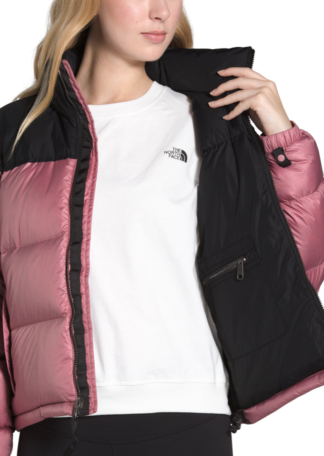 The North Face Women's 1996 Retro Nuptse Jacket Mesa Rose