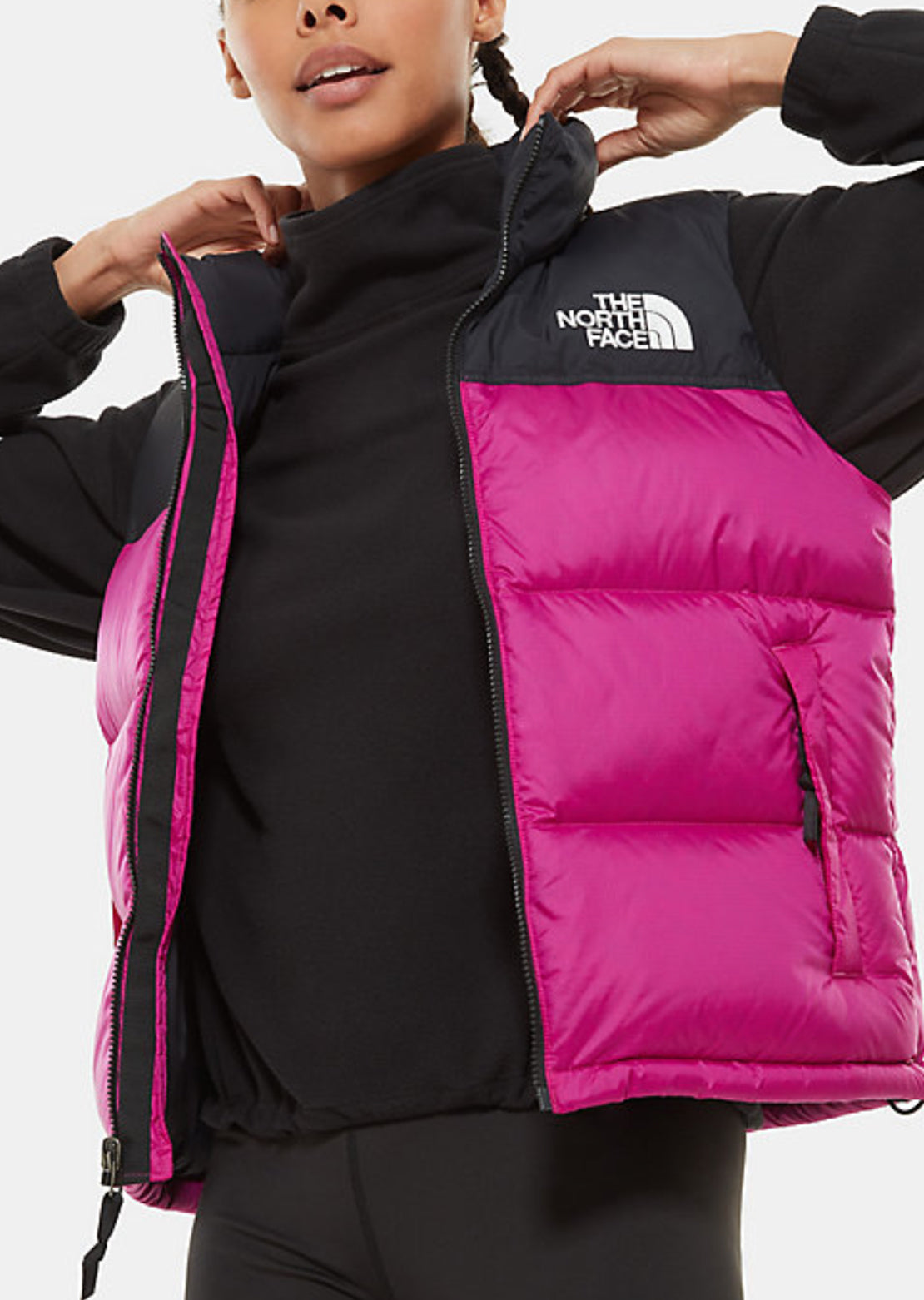 The North Face Women's 1996 Retro Nuptse Vest Wild Aster Purple