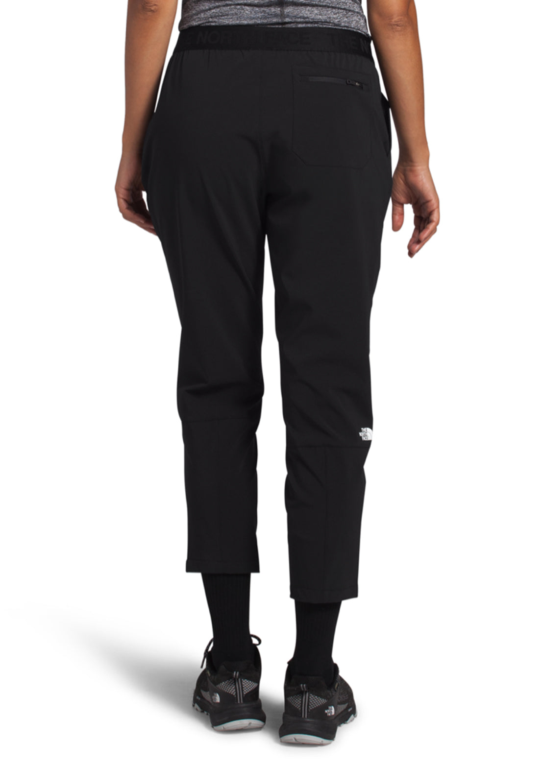 The North Face Women's Active Trail Mid-Rise Jogger, TNF BLACK