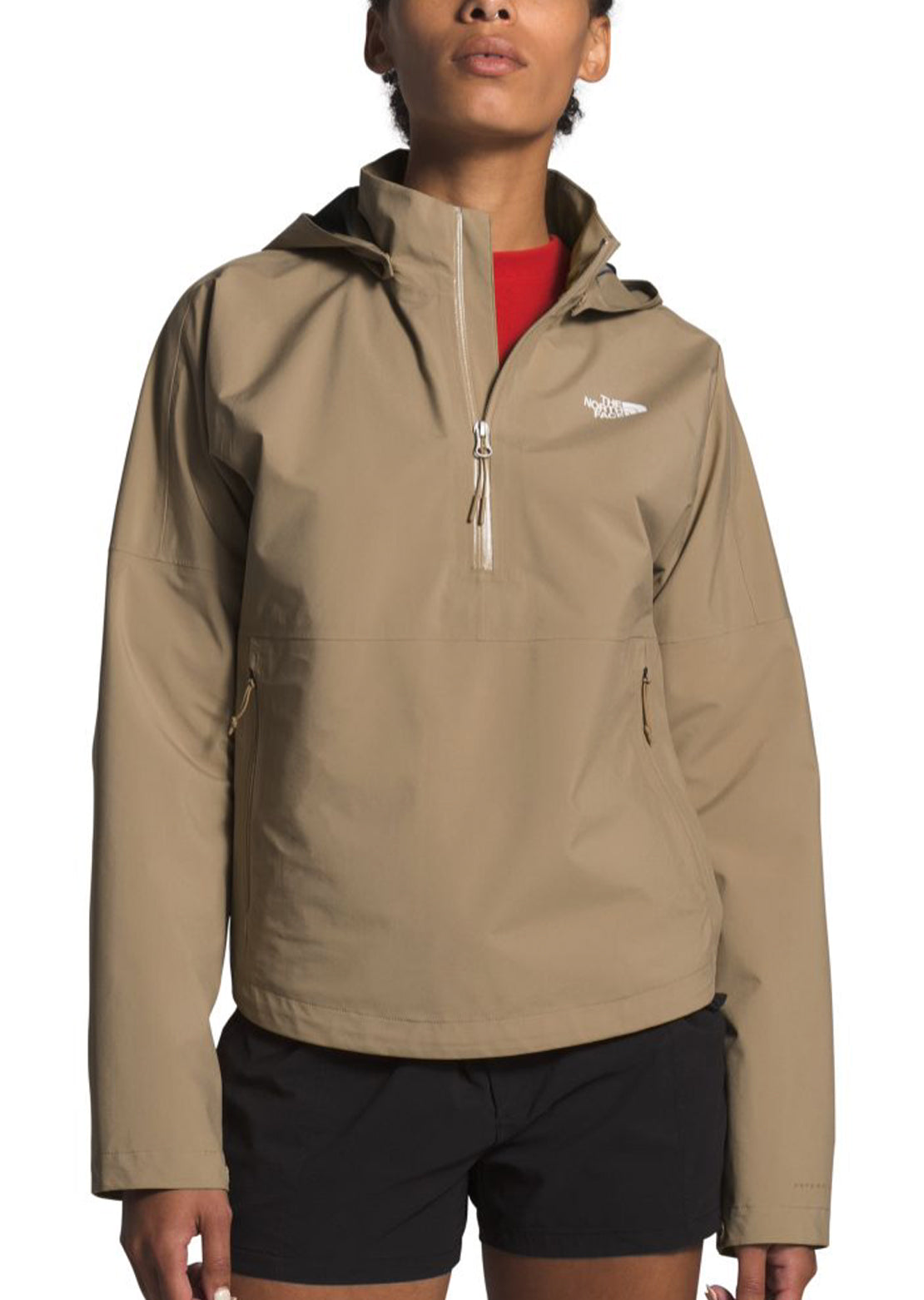 The North Face Women's Arque Active Trail Futurlight Jacket Kelp Tan