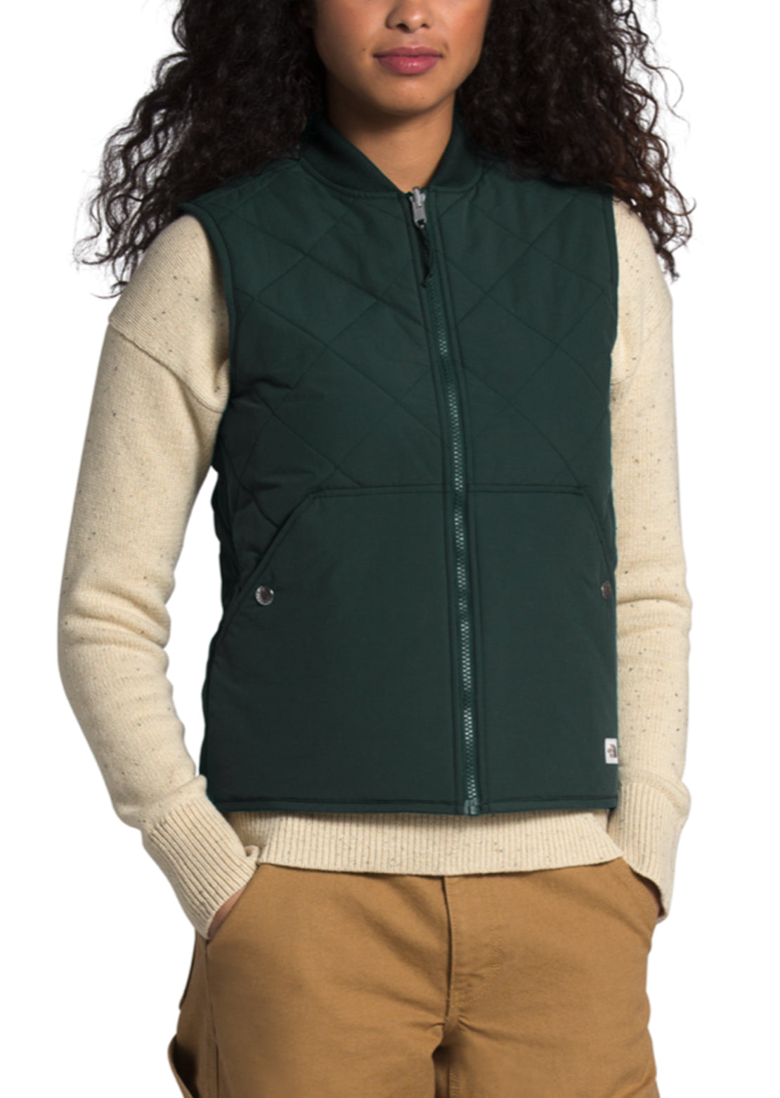 The North Face Women's Cuchillo Vest Scarab Green