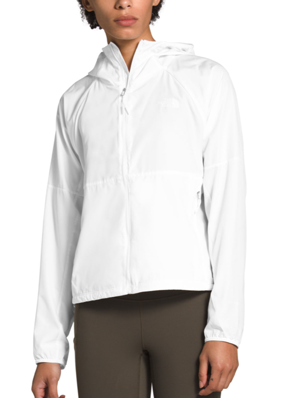 The North Face Women's Flyweight Hoodie TNF White