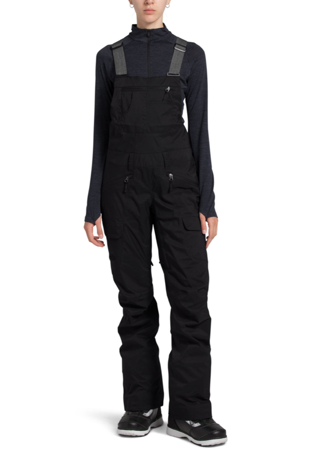 The North Face Women's Freedom Bib Pants TNF Black