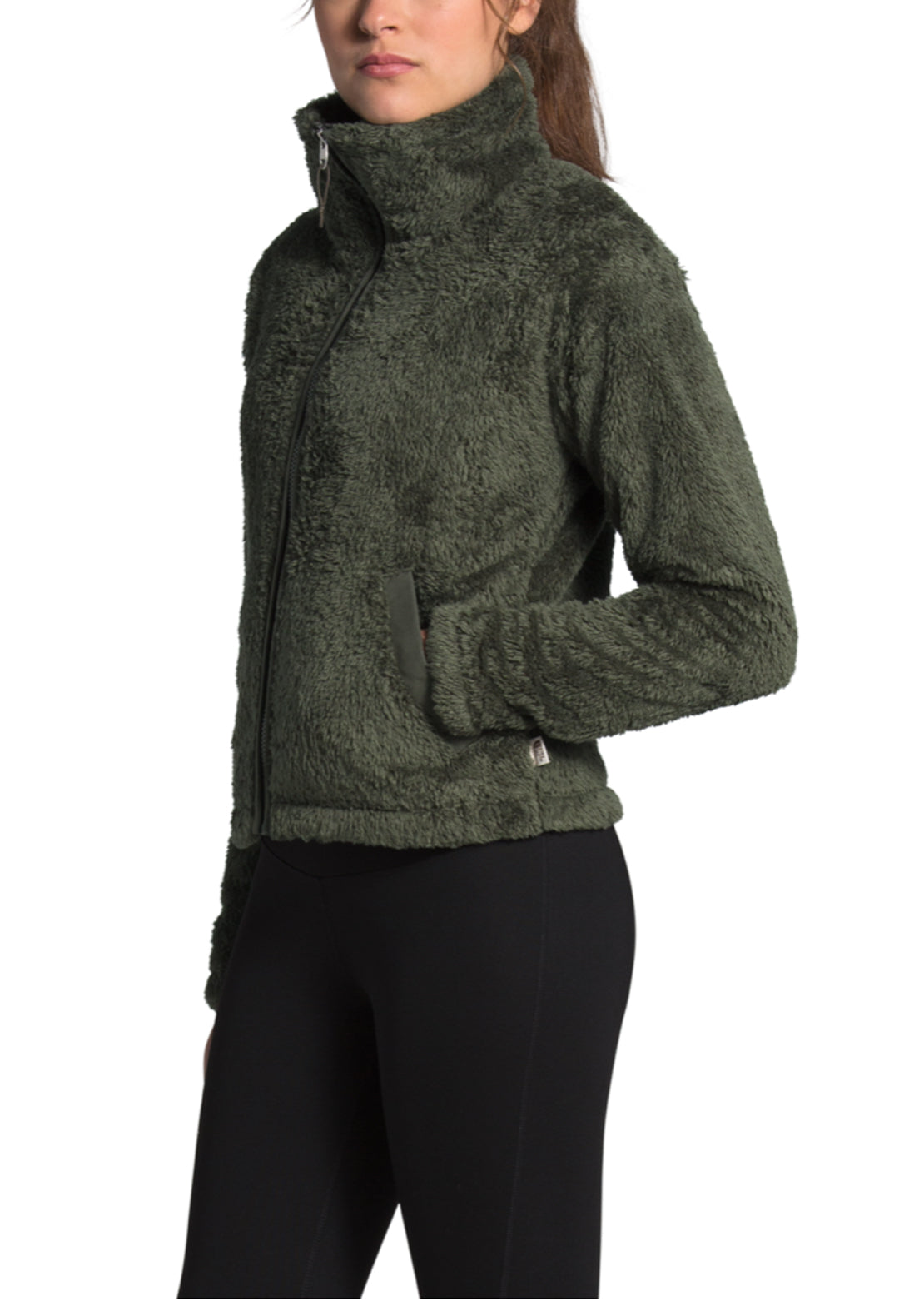 The North Face Women's Furry Fleece 2.0 Jacket New Taupe Green