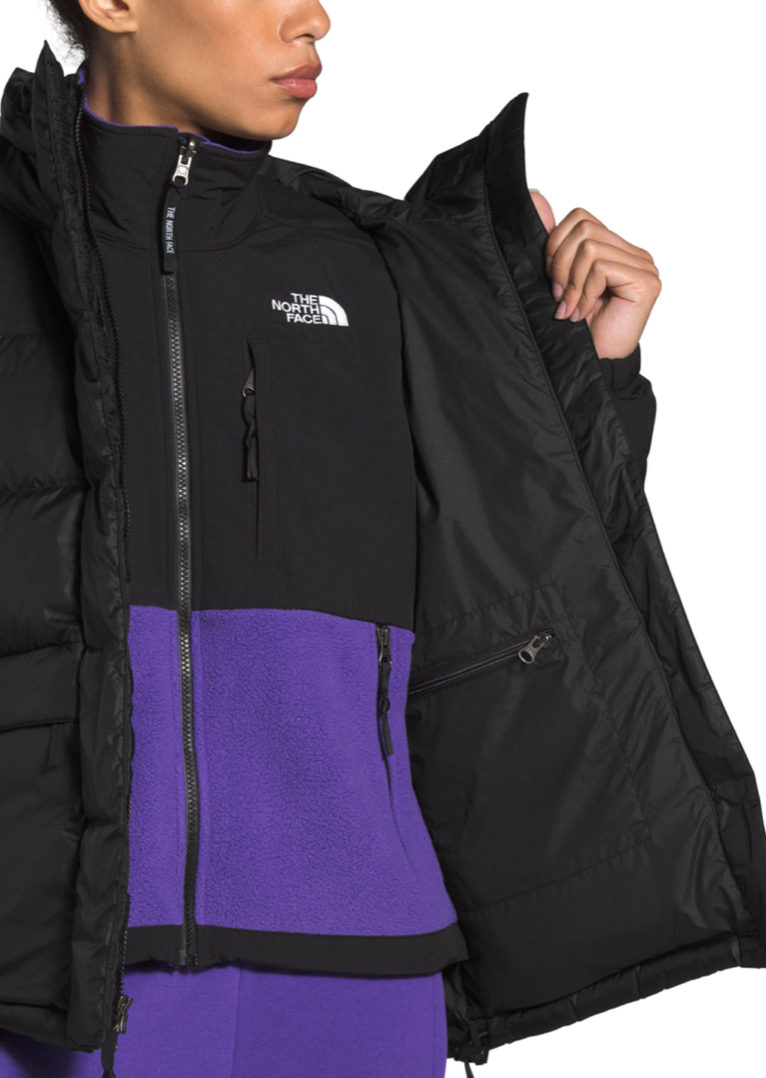 The North Face Women's Himalayian Down Parka Jacket TNF Black